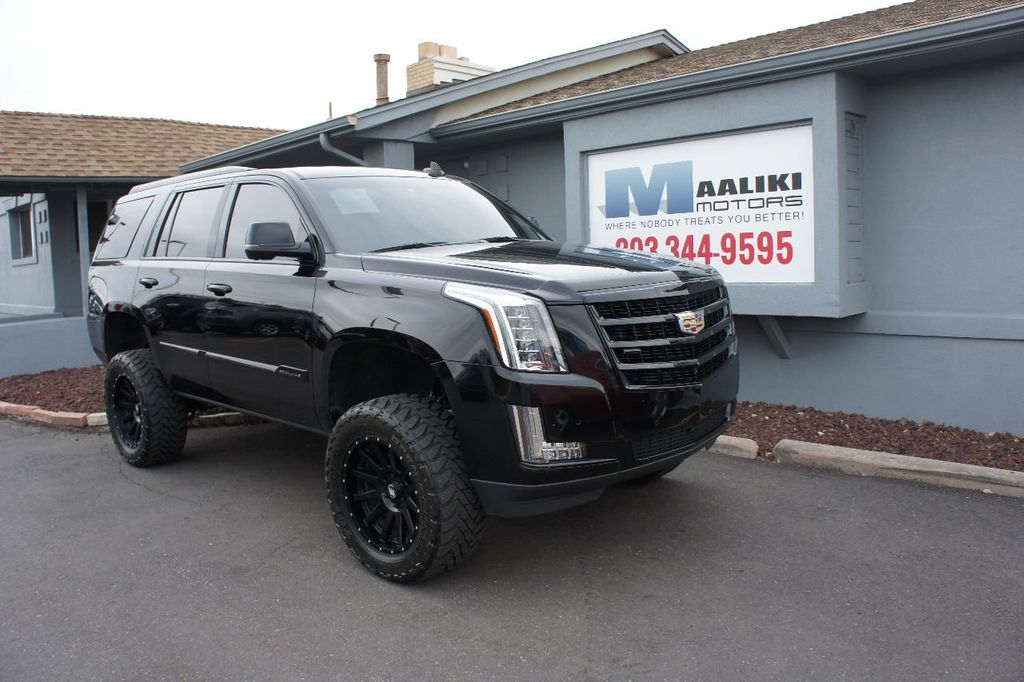 2015 Used Cadillac Escalade 4wd 4dr Luxury At Maaliki Motors Serving