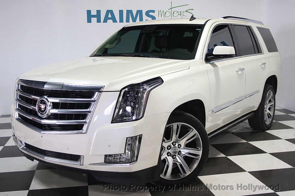 2015 used cadillac escalade 4wd 4dr premium at haims motors serving fort lauderdale hollywood. Black Bedroom Furniture Sets. Home Design Ideas
