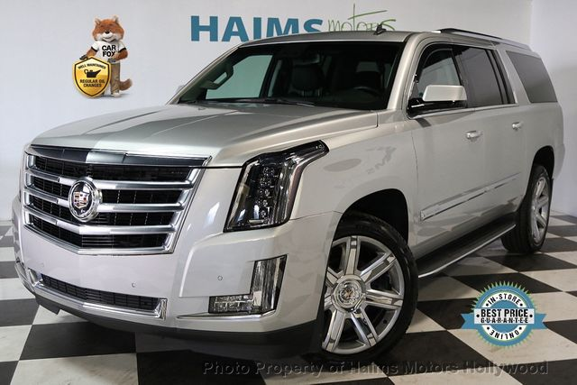 2015 Used Cadillac Escalade Esv 2wd 4dr Luxury At Haims Motors Ft