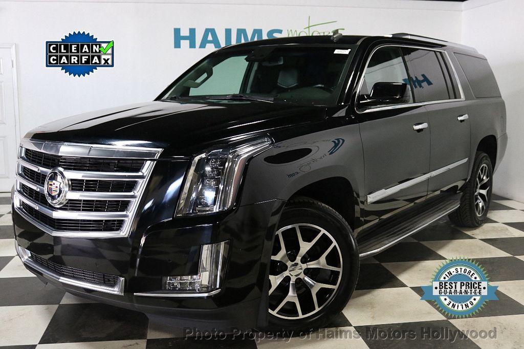 2015 Cadillac Escalade ESV 2WD 4dr Luxury - 18626184 - 0
