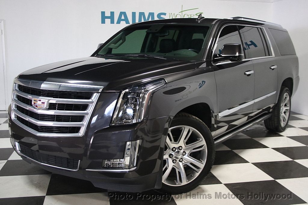 2015 Used Cadillac Escalade Esv 4wd 4dr Premium At Haims Motors