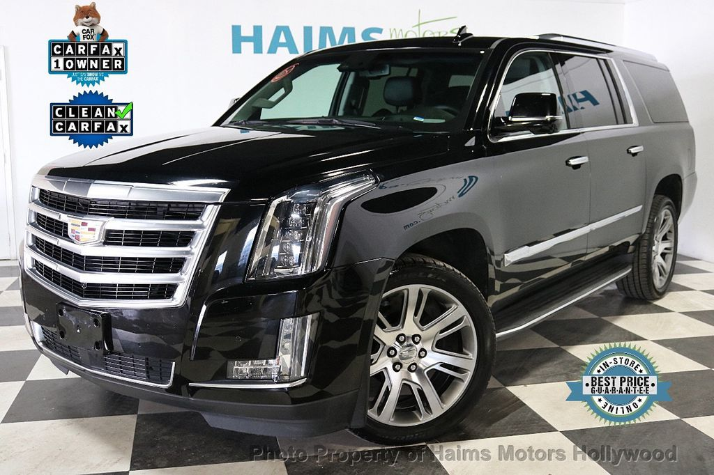 2015 Used Cadillac Escalade Esv 4wd 4dr Premium At Haims Motors Ft