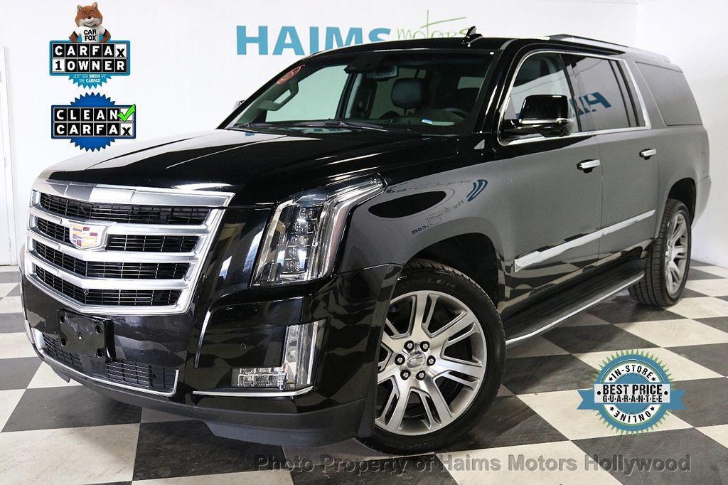2015 Cadillac Escalade ESV 4WD 4dr Premium - 18355031 - 0