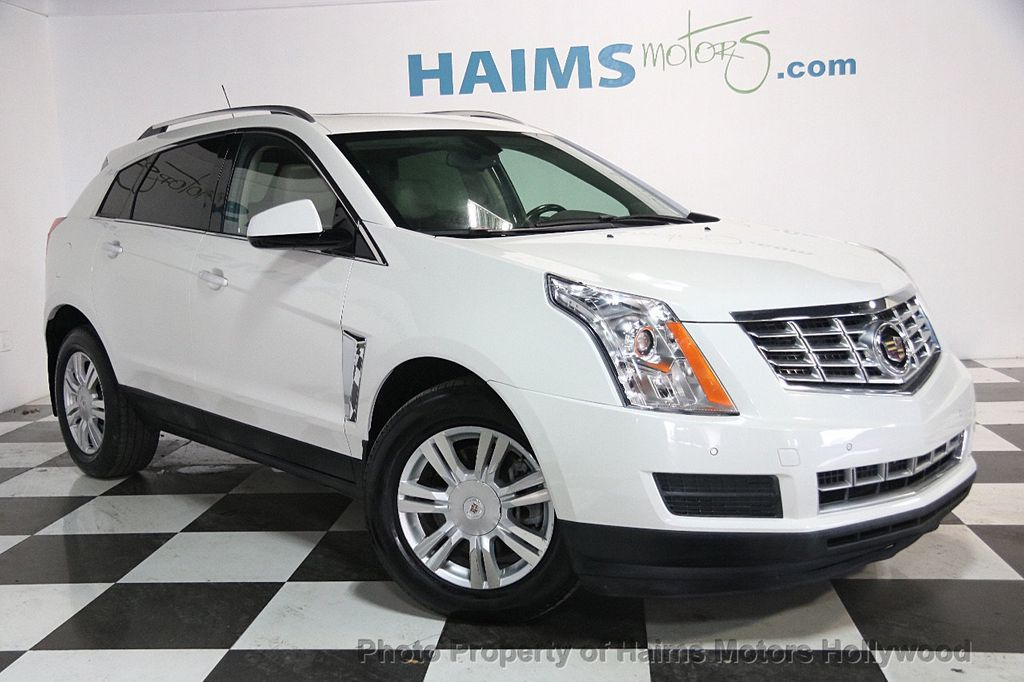 2015 Used Cadillac SRX FWD 4dr Luxury Collection at Haims Motors Serving Fort Lauderdale ...