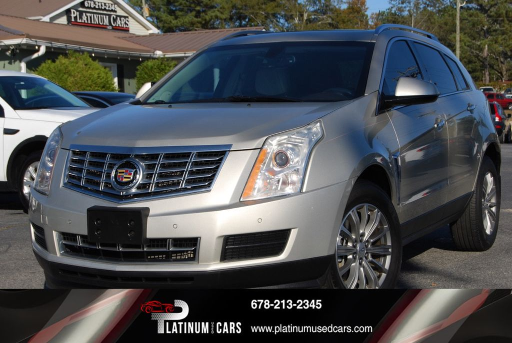 2017 Cadillac Srx Fwd 4dr Luxury Collection 18192826 0