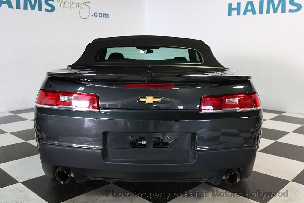 2015 Chevrolet Camaro 2dr Convertible LT w/1LT - 17590536 - 10