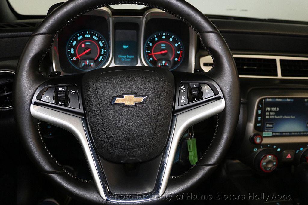 2015 Chevrolet Camaro 2dr Convertible LT w/1LT - 17590536 - 26