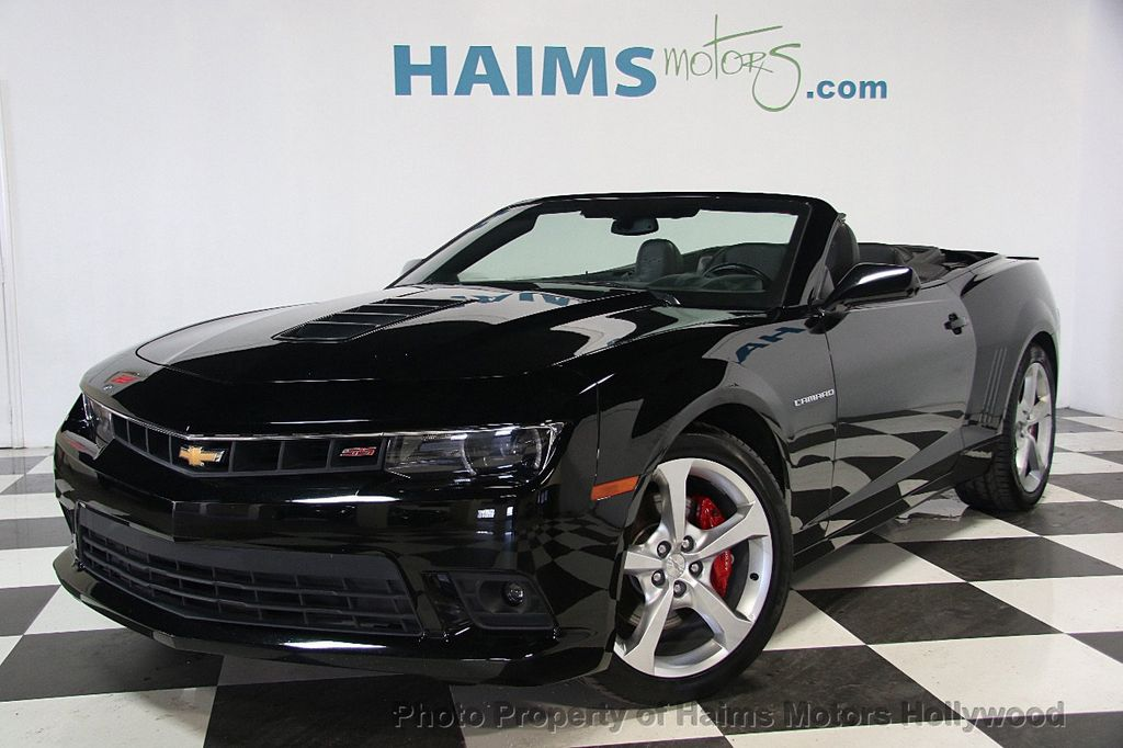 2017 Chevrolet Camaro 2dr Convertible Ss W 2ss 16622981