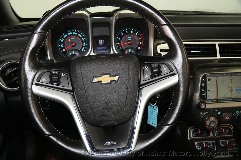 2015 Chevrolet Camaro 2dr Convertible SS w/2SS - 16622981 - 24
