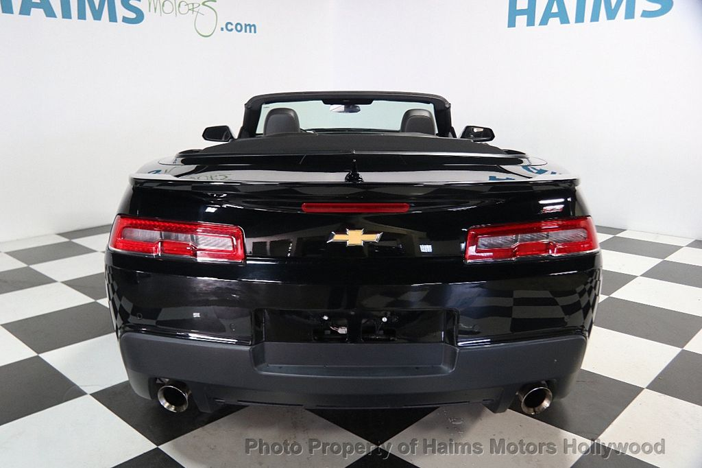2015 Chevrolet Camaro 2dr Convertible SS w/2SS - 16622981 - 4