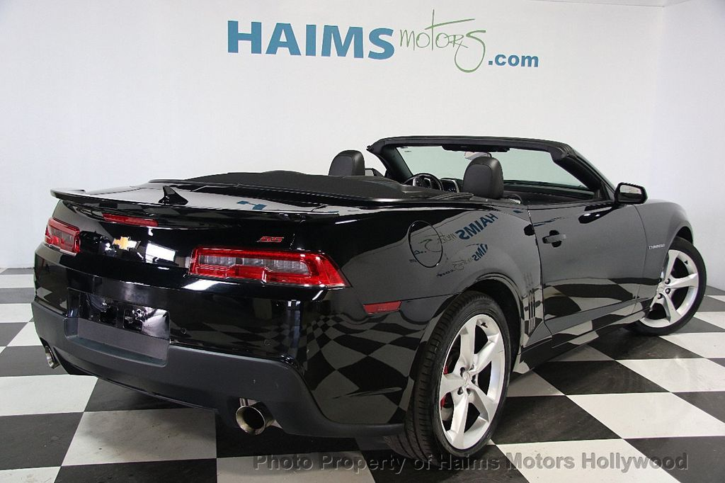2015 Chevrolet Camaro 2dr Convertible SS w/2SS - 16622981 - 5