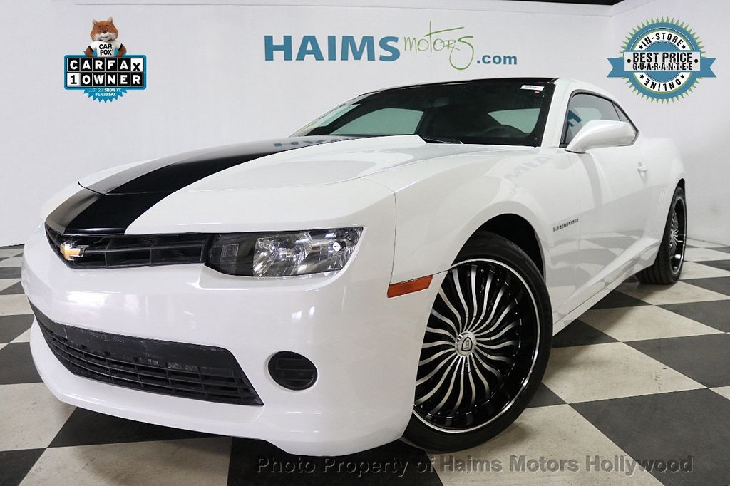 2015 Chevrolet Camaro 2dr Coupe LS w/1LS - 17943792 - 0
