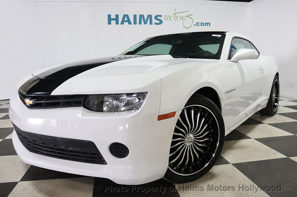 2015 Chevrolet Camaro 2dr Coupe LS w/1LS - 17943792 - 1