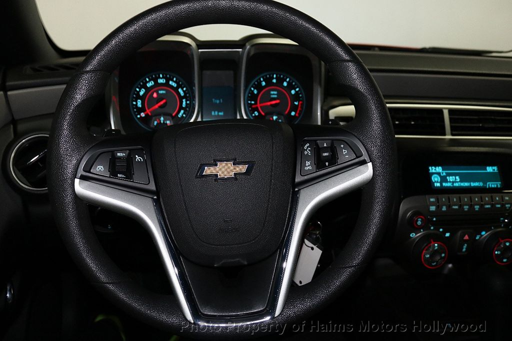 2015 Chevrolet Camaro 2dr Coupe LS w/1LS - 18535056 - 22