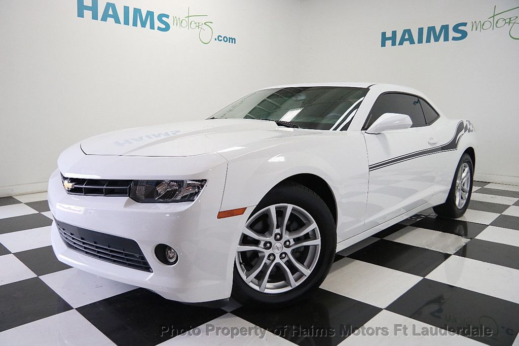 2015 Chevrolet Camaro 2dr Coupe LS w/1LS - 16457345 - 0