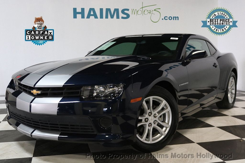 2015 Chevrolet Camaro 2dr Coupe LS w/2LS - 17631481 - 0