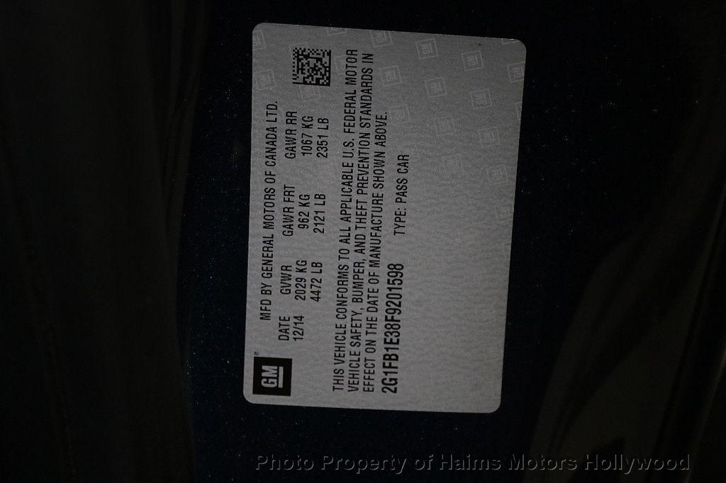 2015 Chevrolet Camaro 2dr Coupe LS w/2LS - 17631481 - 25