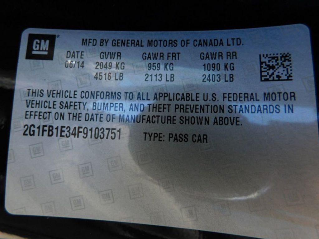 2015 Chevrolet Camaro 2dr Coupe LS w/2LS - 18491730 - 8