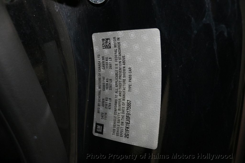 2015 Chevrolet Camaro 2dr Coupe SS w/2SS - 17938750 - 33