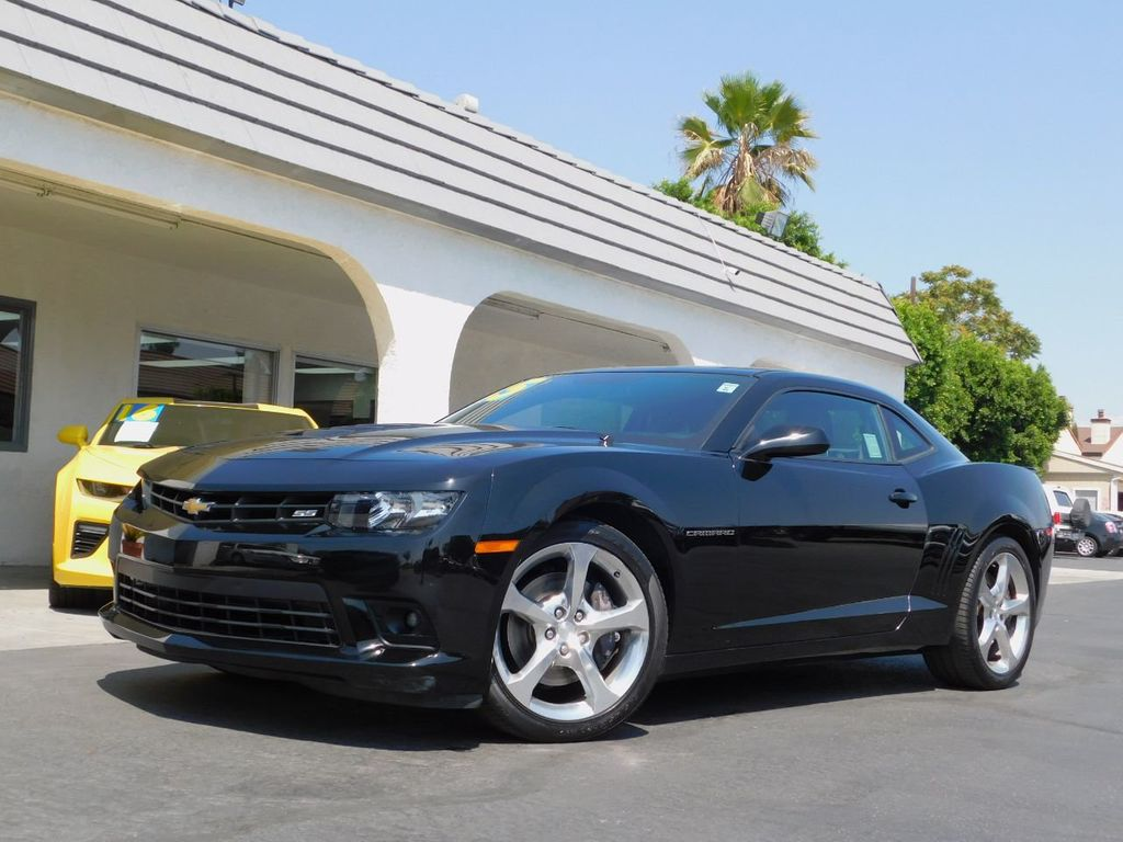 2015 Chevrolet Camaro Only 30k Mi, CA 1-Owner & Carfax Certified - 18011969 - 0