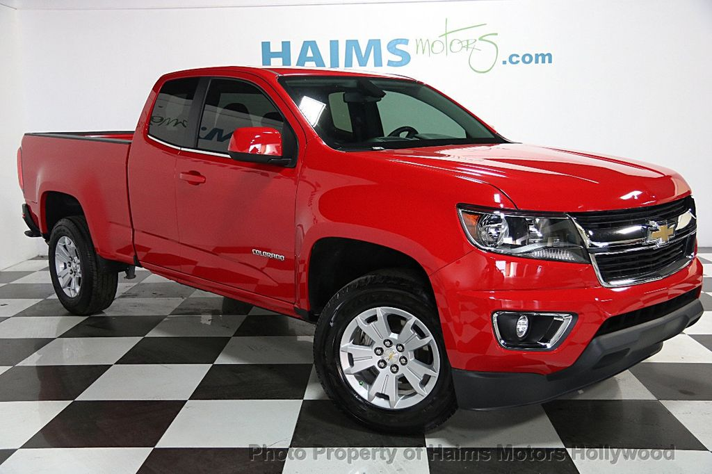 2015 Used Chevrolet Colorado 2wd Ext Cab 1283 Lt At Haims Motors