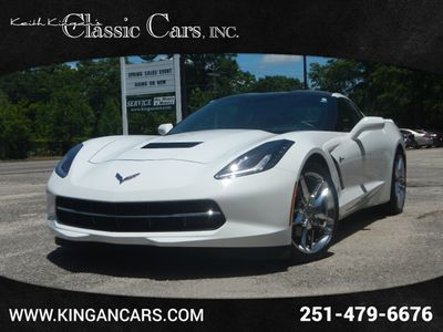 2015 Chevrolet Corvette 2dr Stingray Coupe w/2LT w/Carbon Roof