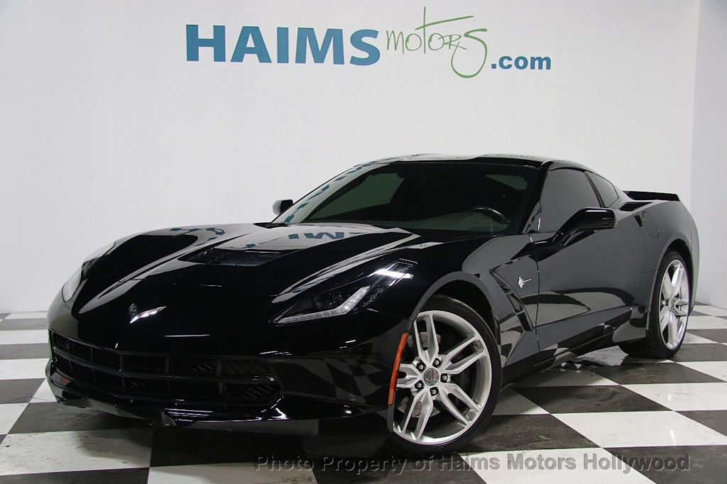 2015 used chevrolet corvette 2dr stingray z51 coupe w 1lt. Black Bedroom Furniture Sets. Home Design Ideas