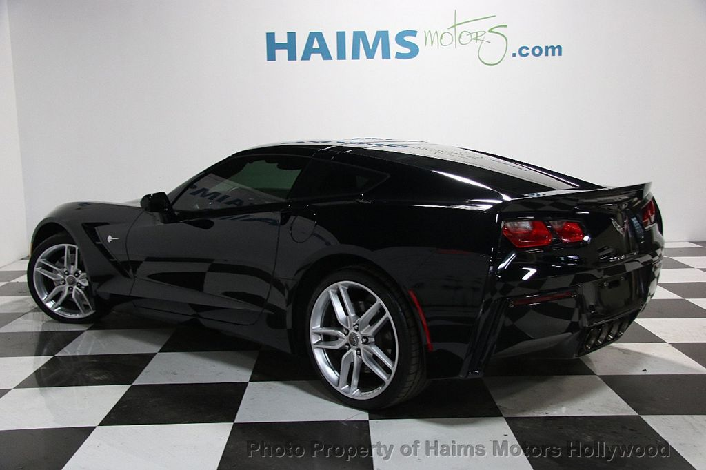 2015 Chevrolet Corvette 2dr Stingray Z51 Coupe w/1LT - 16886309 - 4