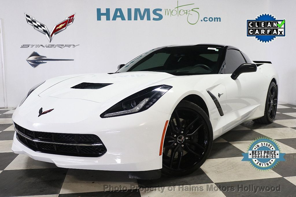 2015 Chevrolet Corvette 2dr Stingray Z51 Coupe w/2LT - 17907525 - 0