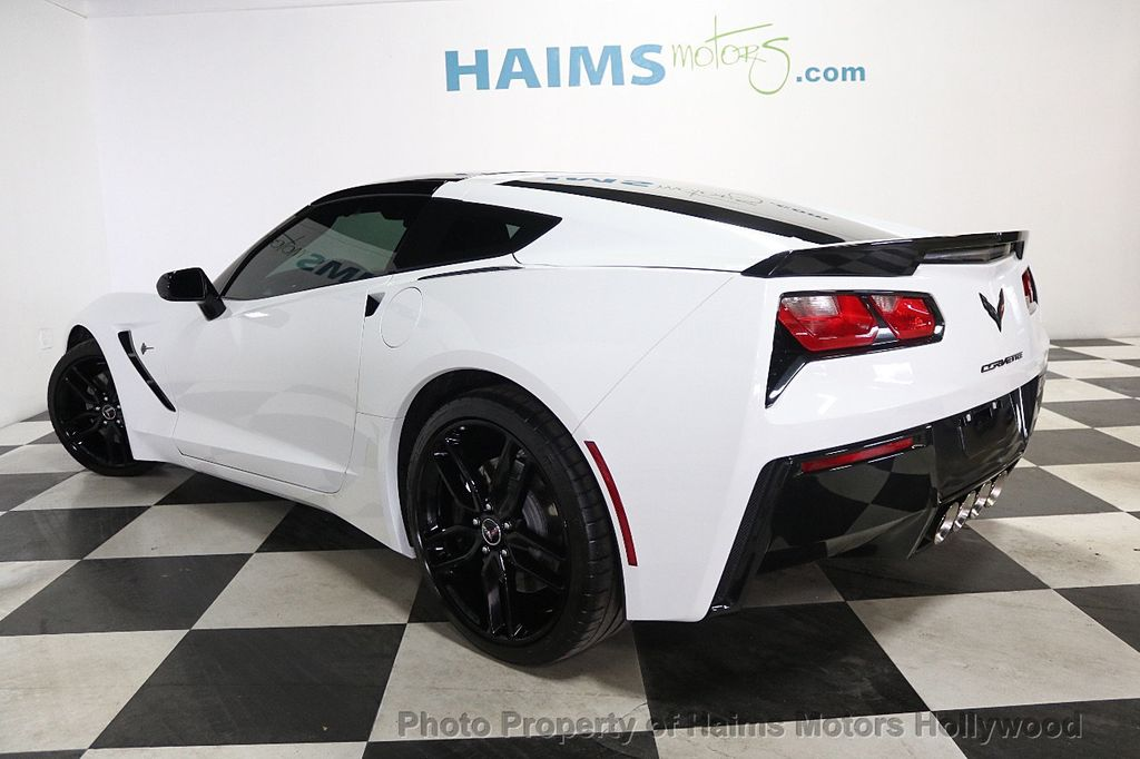 2015 Chevrolet Corvette 2dr Stingray Z51 Coupe w/2LT - 17907525 - 4