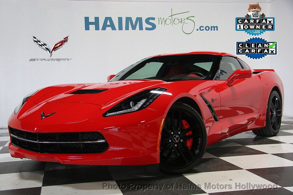 2015 used chevrolet corvette 2dr stingray z51 coupe w 3lt. Black Bedroom Furniture Sets. Home Design Ideas