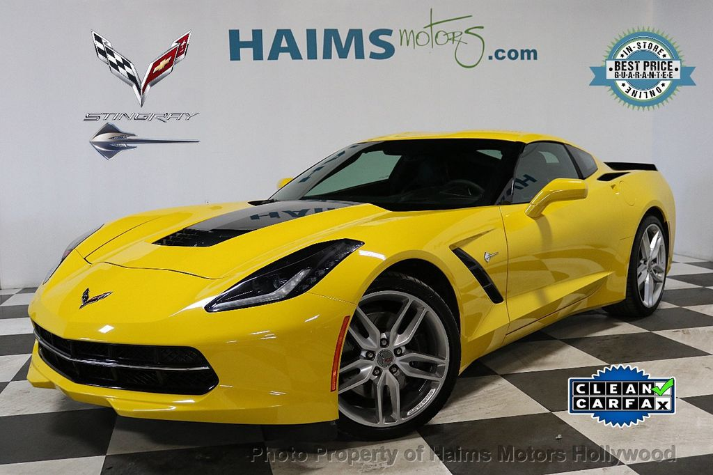 2015 Chevrolet Corvette 2dr Stingray Z51 Coupe w/3LT - 18296666 - 0