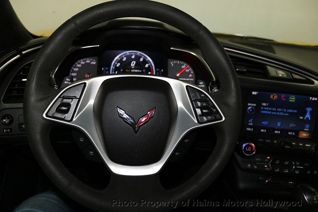 2015 Chevrolet Corvette 2dr Stingray Z51 Coupe w/3LT - 18296666 - 24