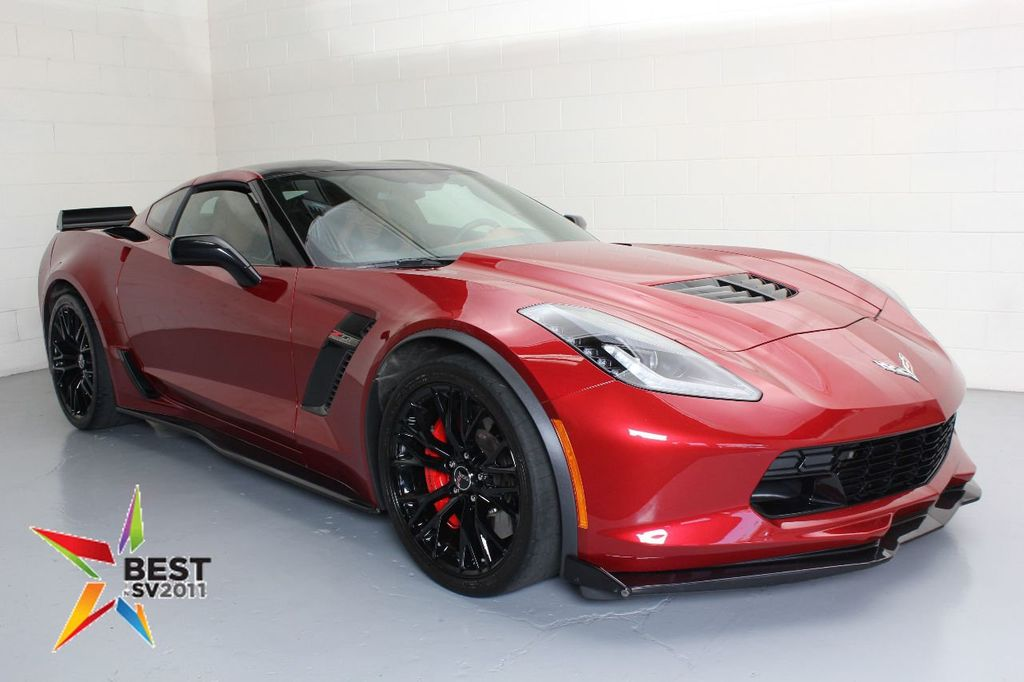 2017 Chevrolet Corvette 2dr Z06 Coupe W 3lz 17646195 0