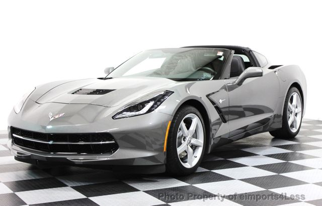 2015 Used Chevrolet Corvette CERTIFIED CORVETTE STINGRAY 1LT COUPE ...