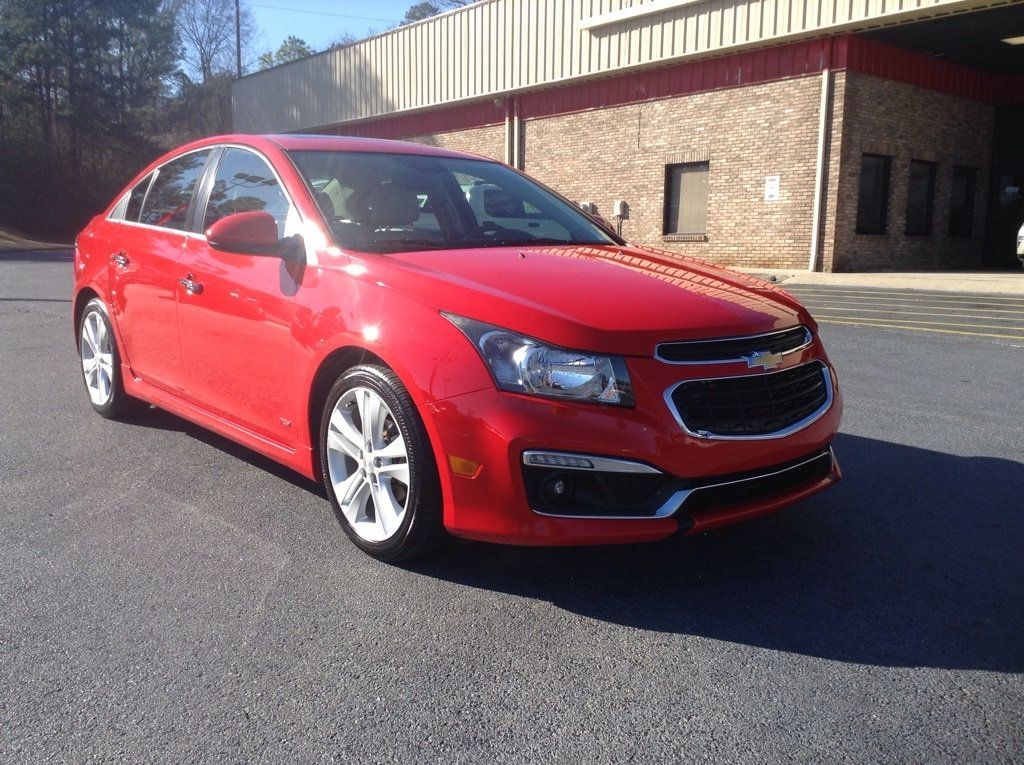 2015 Used Chevrolet Cruze 4dr Sedan Ltz At City Auto Sales Of
