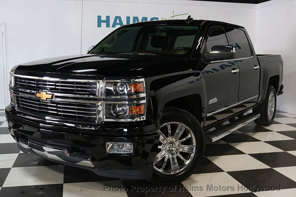 2015 used chevrolet silverado 1500 2wd crew cab 153 0 high country at haims motors serving fort. Black Bedroom Furniture Sets. Home Design Ideas