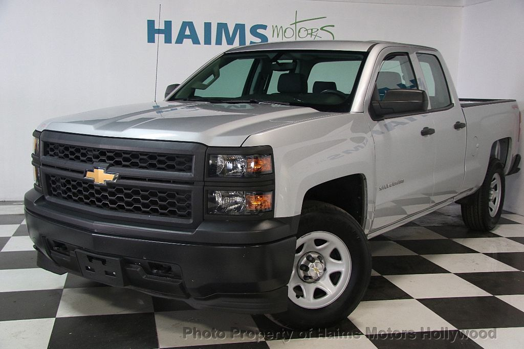 2015 Used Chevrolet Silverado 1500 Ls At Haims Motors