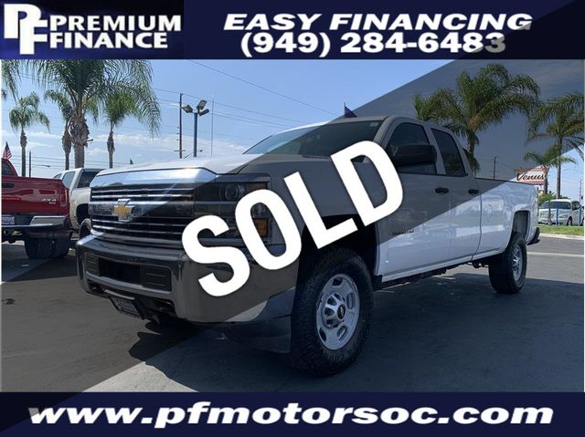 2015 Used Chevrolet Silverado 2500 HD Double Cab CREW CAB, 4X4, ALLISON  TRANSMISSION,TURBO DIESEL, at Premium Finance Serving Stanton, CA, IID