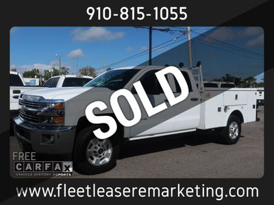 2015 Chevrolet Silverado 2500HD 4WD Utility Body