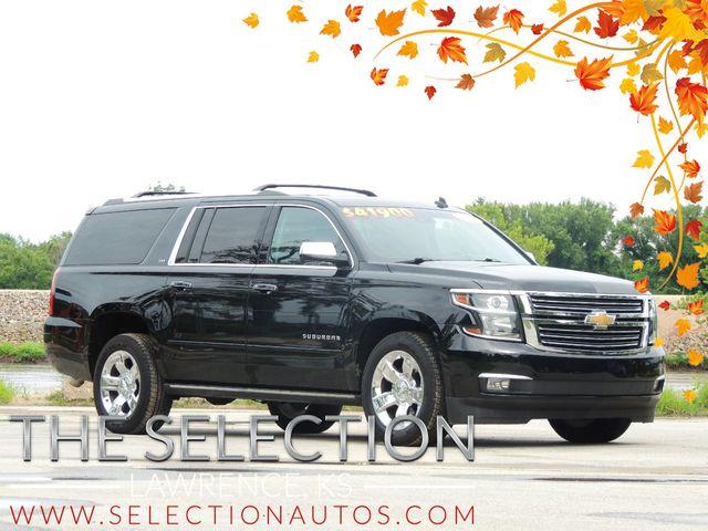 Tremendous 2015 Used Chevrolet Suburban 4Wd Ltz W 20 Chrome Wheels Dual Dvd Navigation At The Selection Serving Kansas City Topeka Ks Iid 19193622 Dailytribune Chair Design For Home Dailytribuneorg