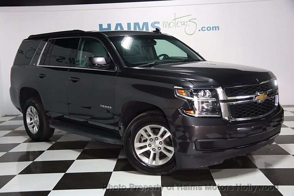 2015 used chevrolet tahoe lt at haims motors serving fort lauderdale hollywood miami fl iid. Black Bedroom Furniture Sets. Home Design Ideas