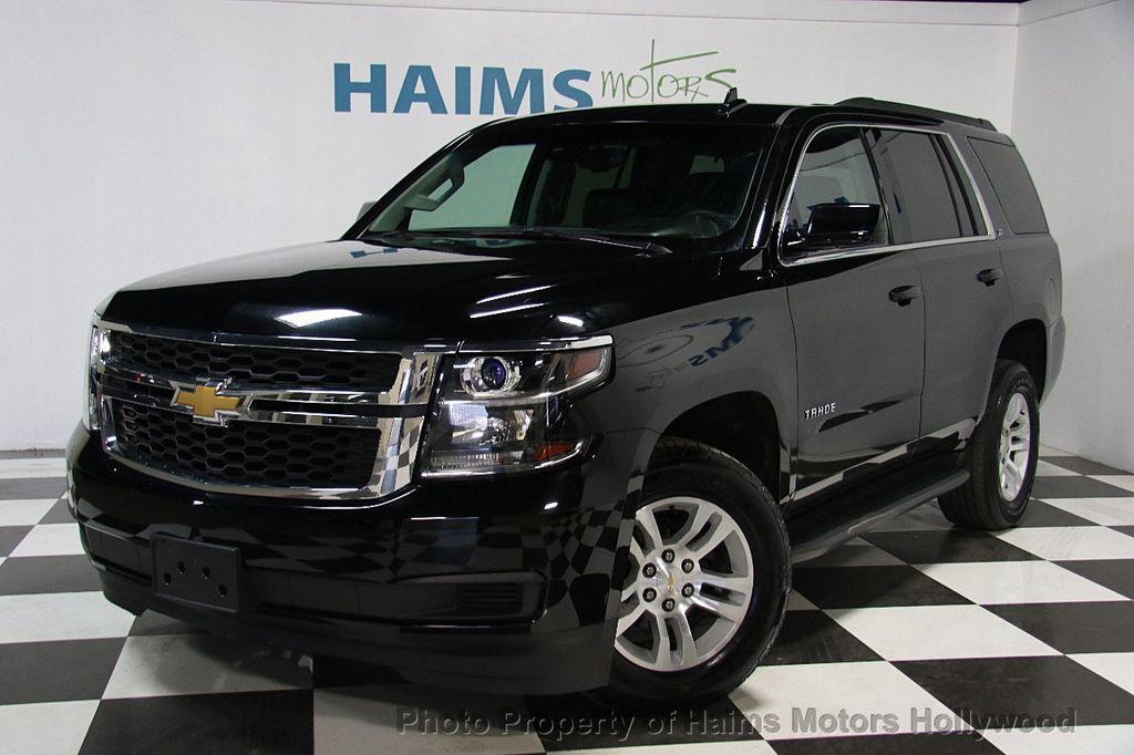 2015 Used Chevrolet Tahoe LT at Haims Motors Serving Fort ...