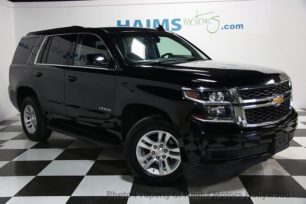Used Chevy Tahoe >> 2015 Used Chevrolet Tahoe LT at Haims Motors Serving Fort Lauderdale, Hollywood, Miami, FL, IID ...
