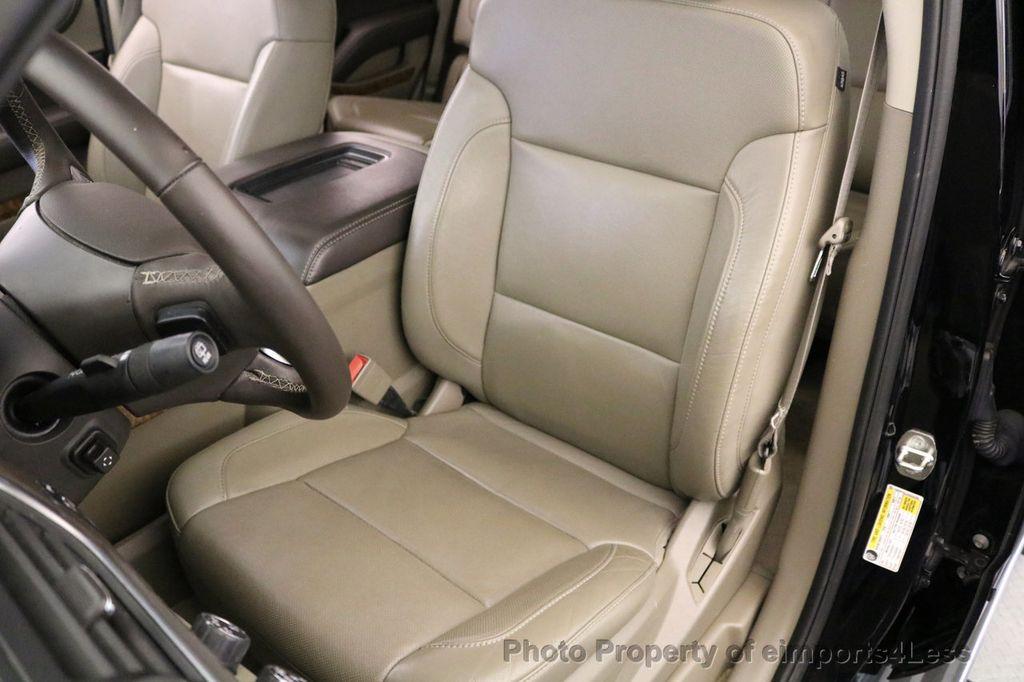 2015 Chevrolet Tahoe TAHOE 4X4 LTZ NAVIGATION CAMERA BLIND SPOT - 17143759 - 21