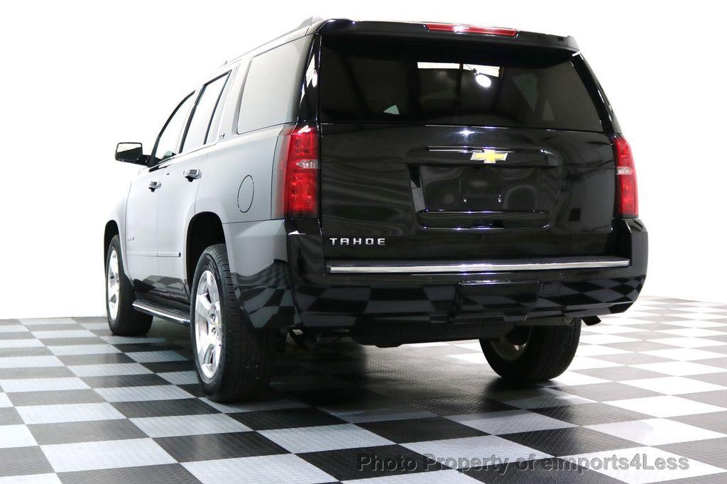2015 Chevrolet Tahoe TAHOE 4X4 LTZ NAVIGATION CAMERA BLIND SPOT - 17143759 - 49