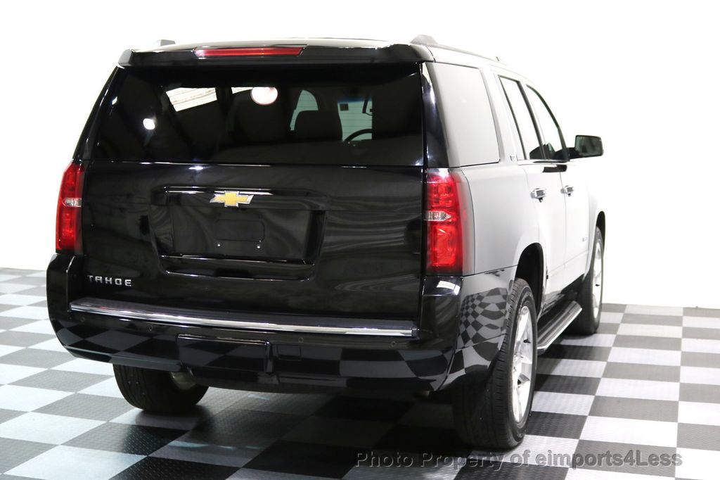 2015 Chevrolet Tahoe TAHOE 4X4 LTZ NAVIGATION CAMERA BLIND SPOT - 17143759 - 50