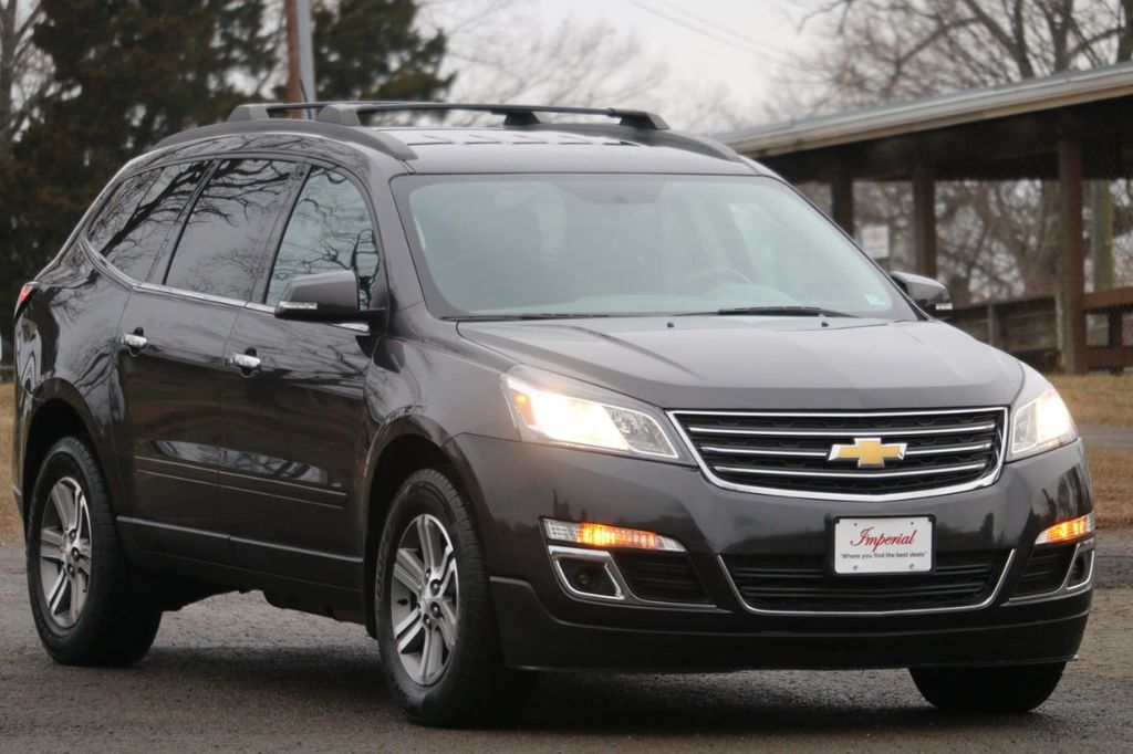 Used Chevy Traverse >> 2015 Used Chevrolet Traverse Awd 4dr Lt W 2lt At Imperial Highline Serving Manassas Va Iid 18481381
