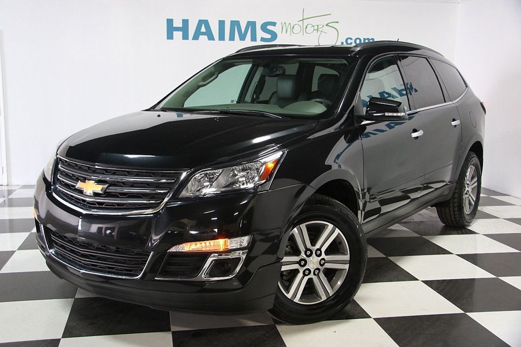 2015 used chevrolet traverse fwd 4dr lt w 2lt at haims motors serving fort lauderdale hollywood. Black Bedroom Furniture Sets. Home Design Ideas