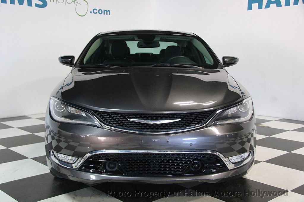 2015 Chrysler 200 4dr Sedan C AWD - 17324855 - 2